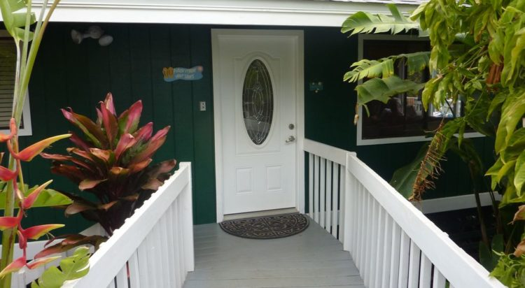 Maui Cottage for Rent Wailea front entrance