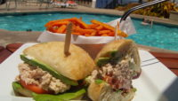 Lunch at the Wailea Marriott Pool Bar